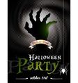 On a halloween party theme vector