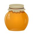 Jars of honey vector