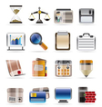 Realistic business and office vector