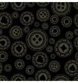 Dark casino chips pattern vector