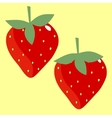 Texture strawberry vector
