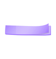 A topview of a lavender colored paper post-it vector