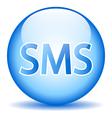 Sms button vector