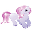 Cute pony cartoon vector