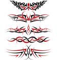 Tattoos set vector