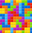 Seamless color blocks background vector