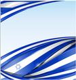 Israel flag background vector
