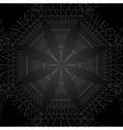 Black pattern background vector
