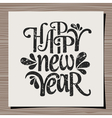 Happy new year 2015 greeting card template vector