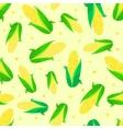 Corn ears seamless pattern vector