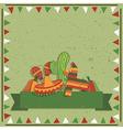 Mexican decoration vector
