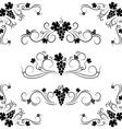 Grape design elements vector