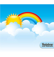 Cloudscape design vector