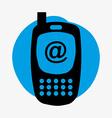 Cellphone design vector