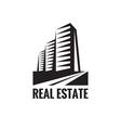 Real estate - logo concept design vector