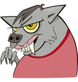 Cartoon werewolf vector