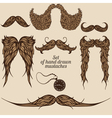 Mustaches vector