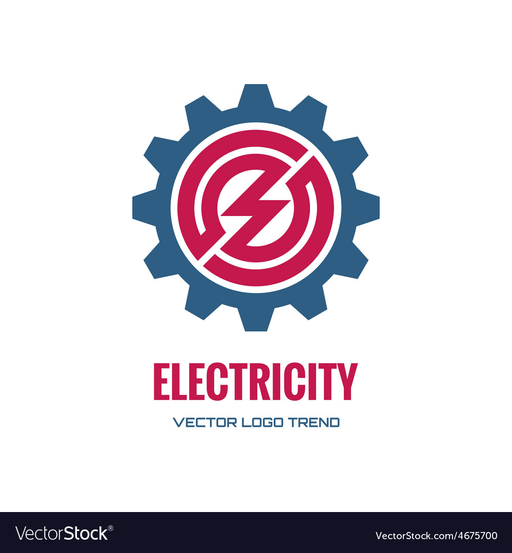 Electricity - logo concept vector | Price: 1 Credit (USD $1)
