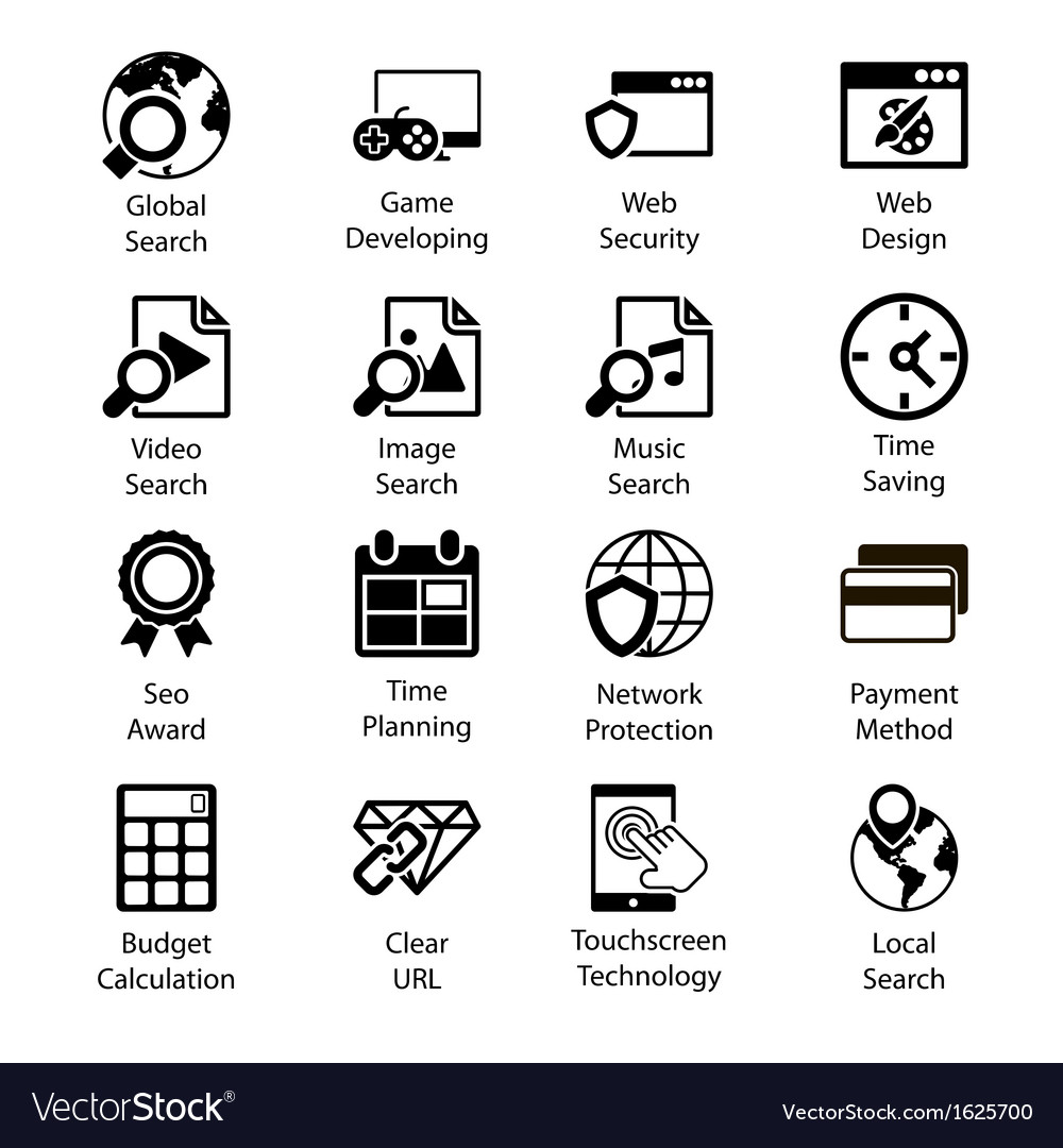 Seo icons vol 3 vector | Price: 1 Credit (USD $1)