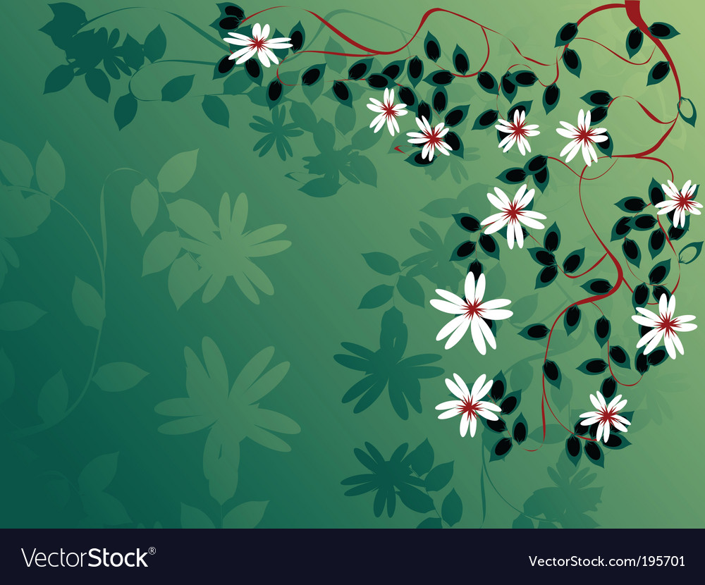 Abstract apple tree vector | Price: 1 Credit (USD $1)