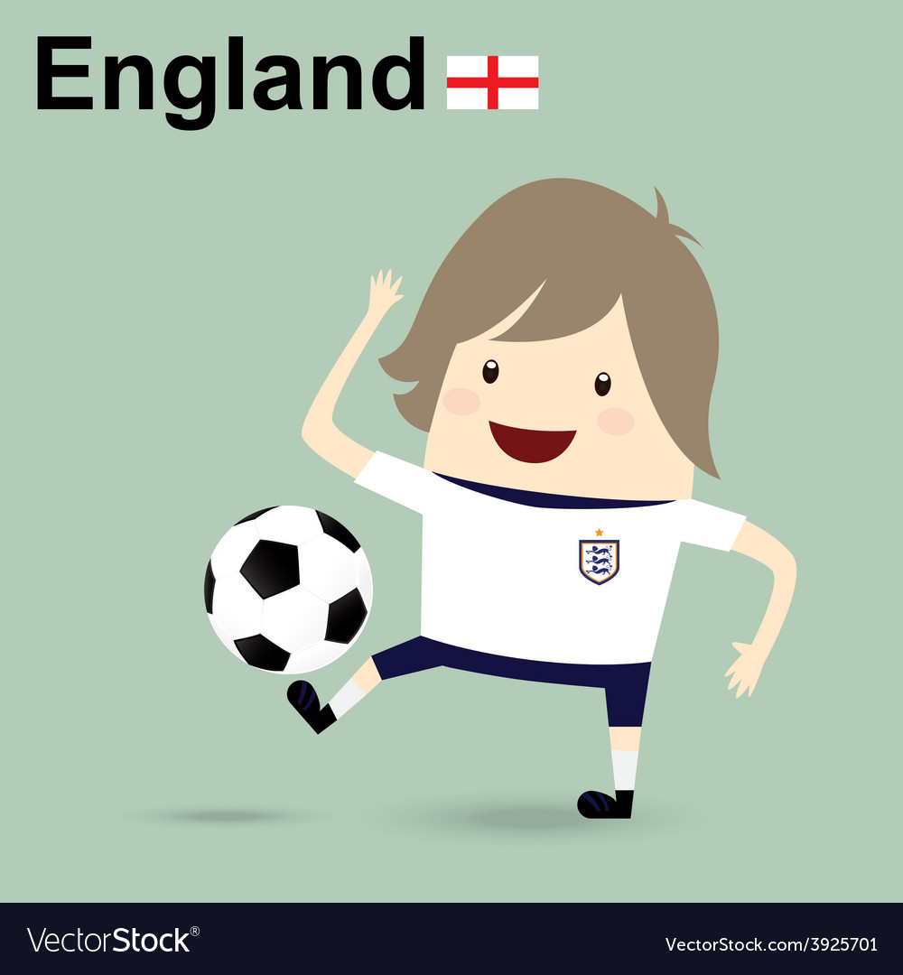 England national football team businessman happy i vector | Price: 1 Credit (USD $1)