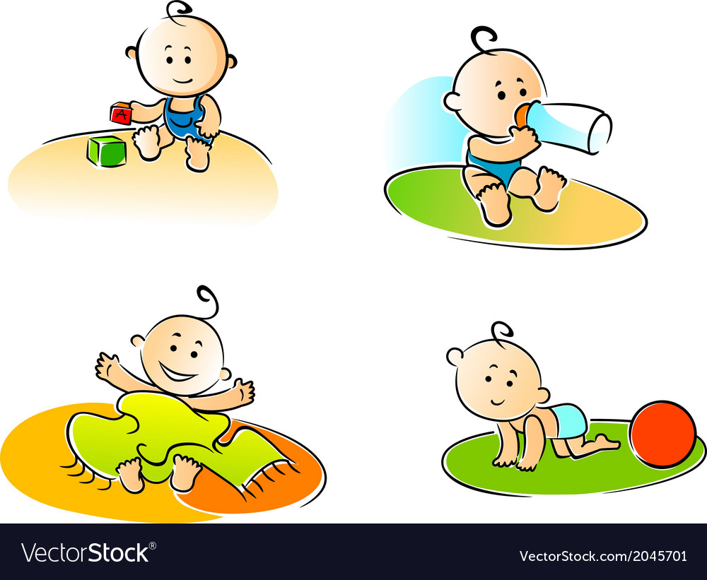 Funny childs vector | Price: 1 Credit (USD $1)