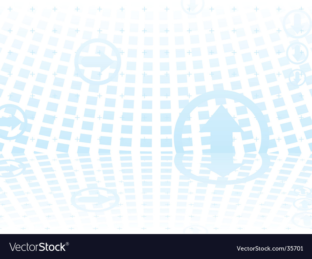 Mirrored arrow vector | Price: 1 Credit (USD $1)