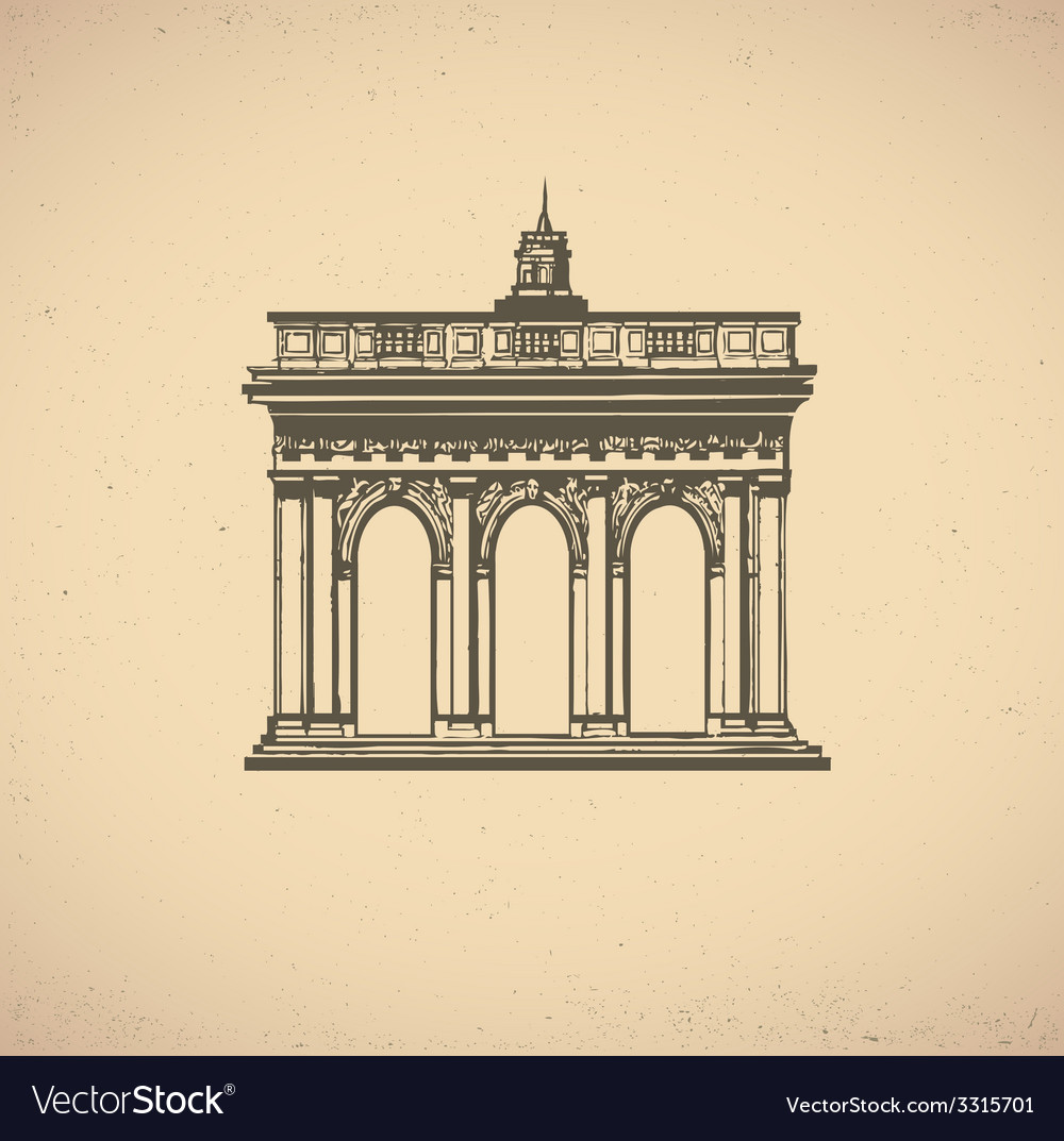 Old building vector   Price: 1 Credit (USD $1)