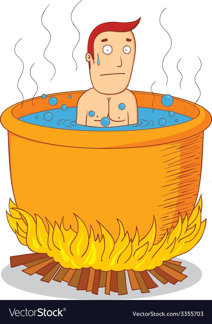 Boiled man vector | Price: 1 Credit (USD $1)