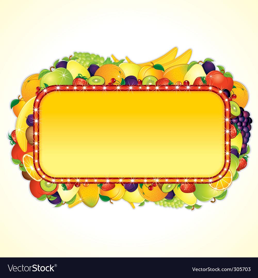Juicy billboard vector | Price: 3 Credit (USD $3)