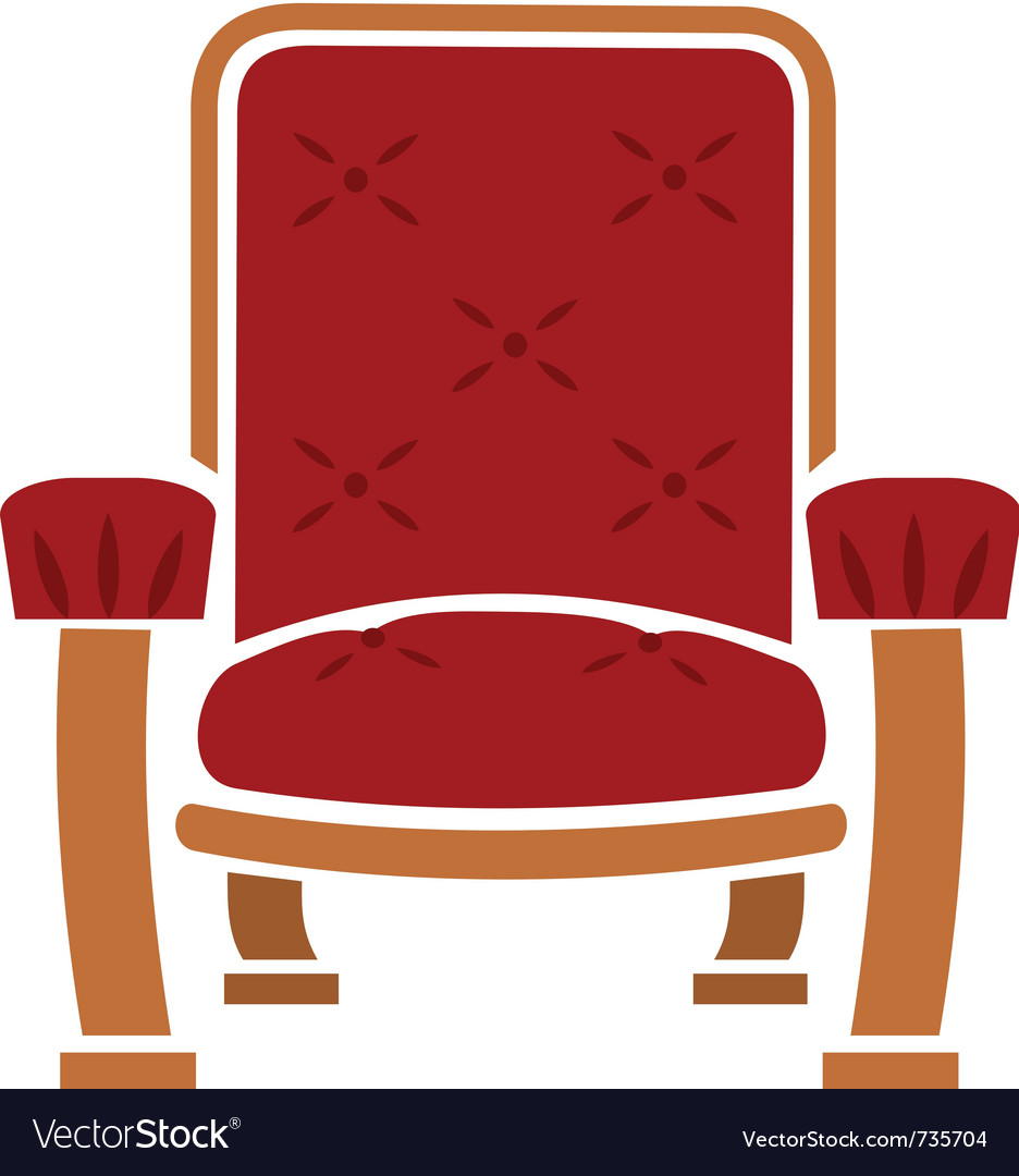 A comfy chair vector | Price: 1 Credit (USD $1)