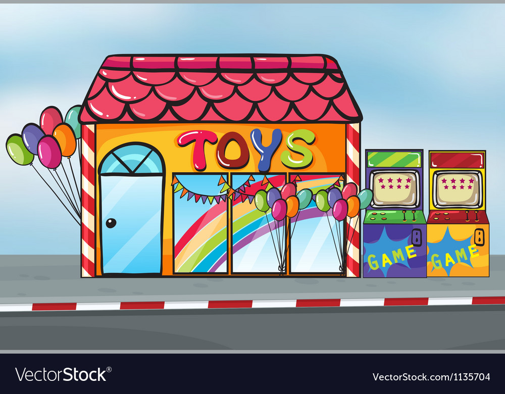 A toy shop vector | Price: 1 Credit (USD $1)