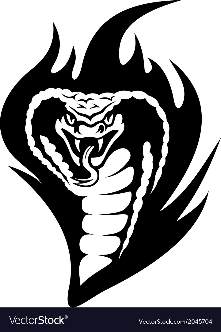 Cobra tattoo vector | Price: 1 Credit (USD $1)