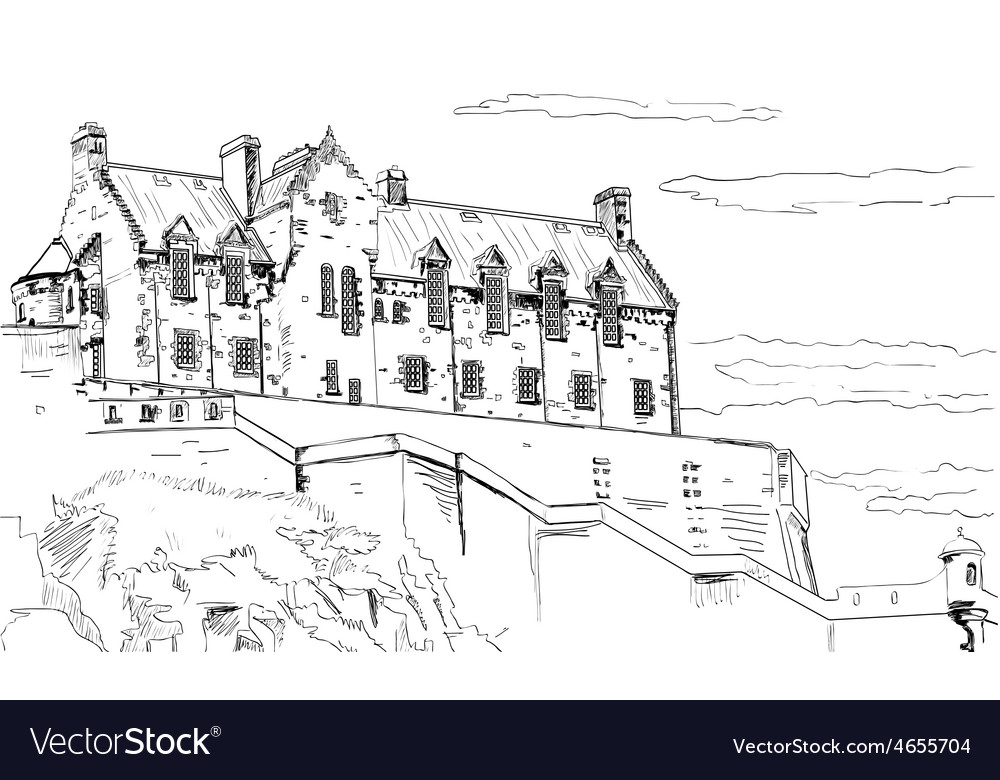 Old castle vector   Price: 1 Credit (USD $1)
