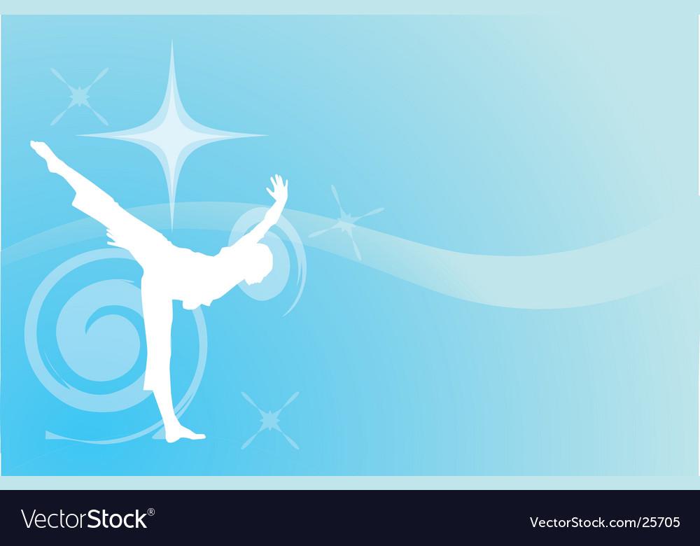 Dancer light vector | Price: 1 Credit (USD $1)