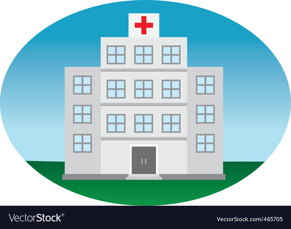 Hospital vector | Price: 1 Credit (USD $1)