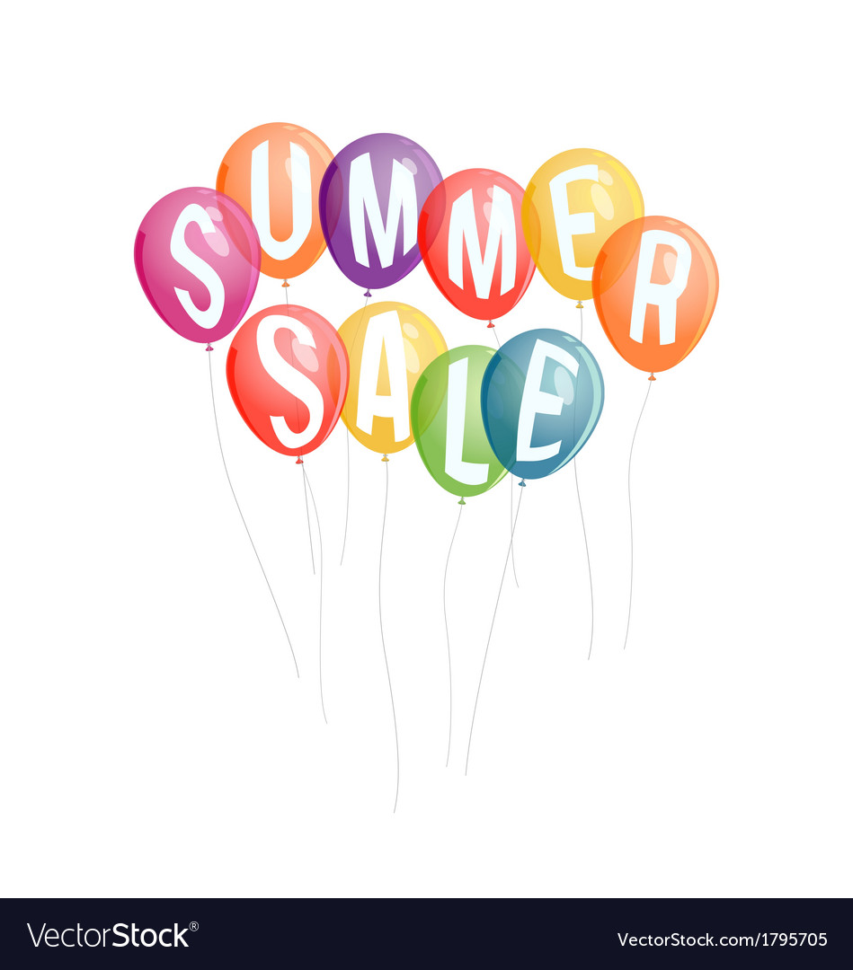 Summer sale advertisement background vector | Price: 1 Credit (USD $1)