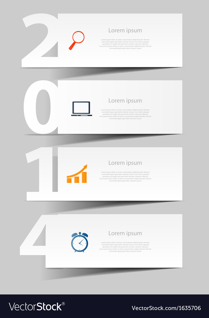 2014 happy new year background vector   Price: 1 Credit (USD $1)