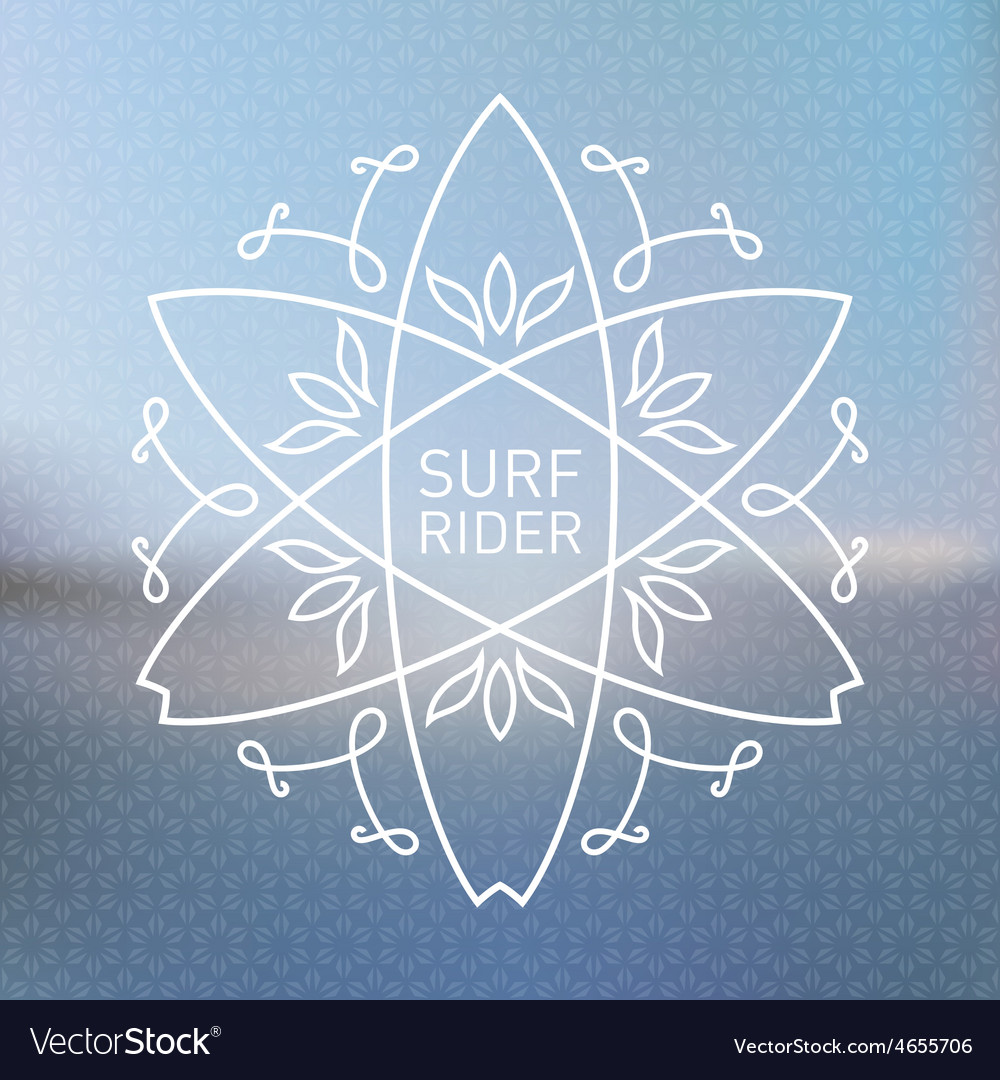 Artwork with blurred ocean on background simple vector | Price: 1 Credit (USD $1)