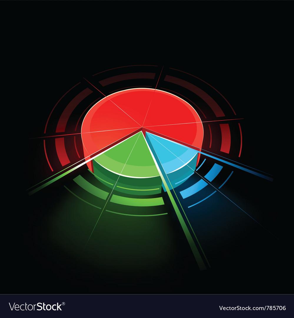 Colorful circular design vector | Price: 3 Credit (USD $3)