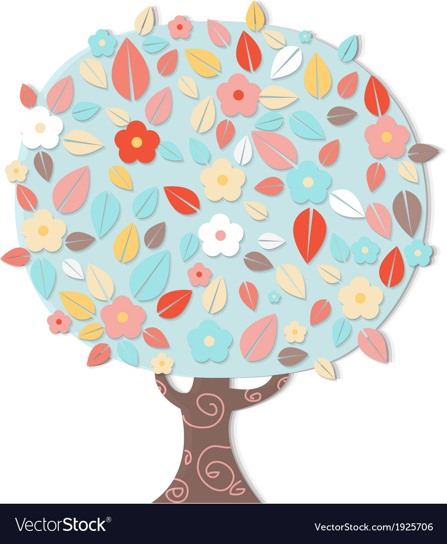 Fantastic tree vector | Price: 1 Credit (USD $1)