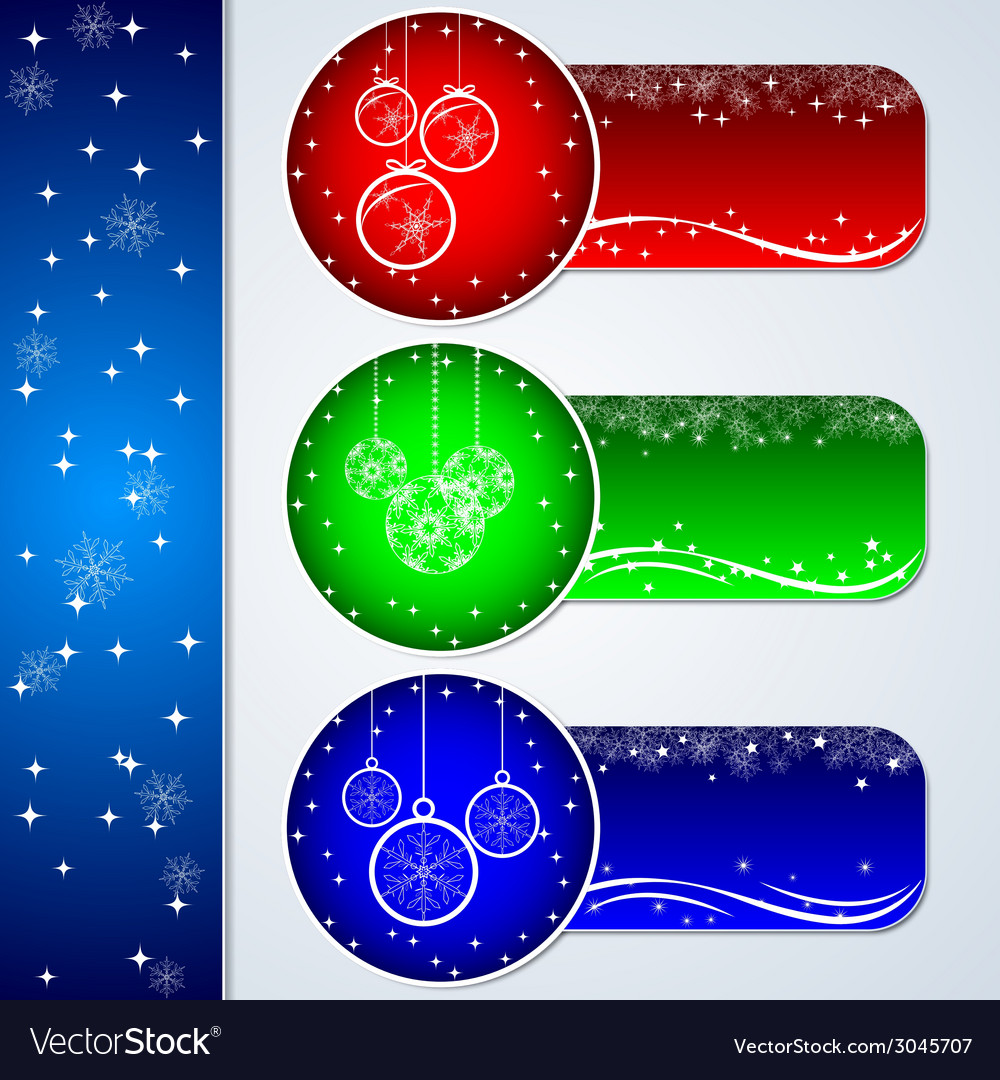 Christmas stickers vector | Price: 1 Credit (USD $1)