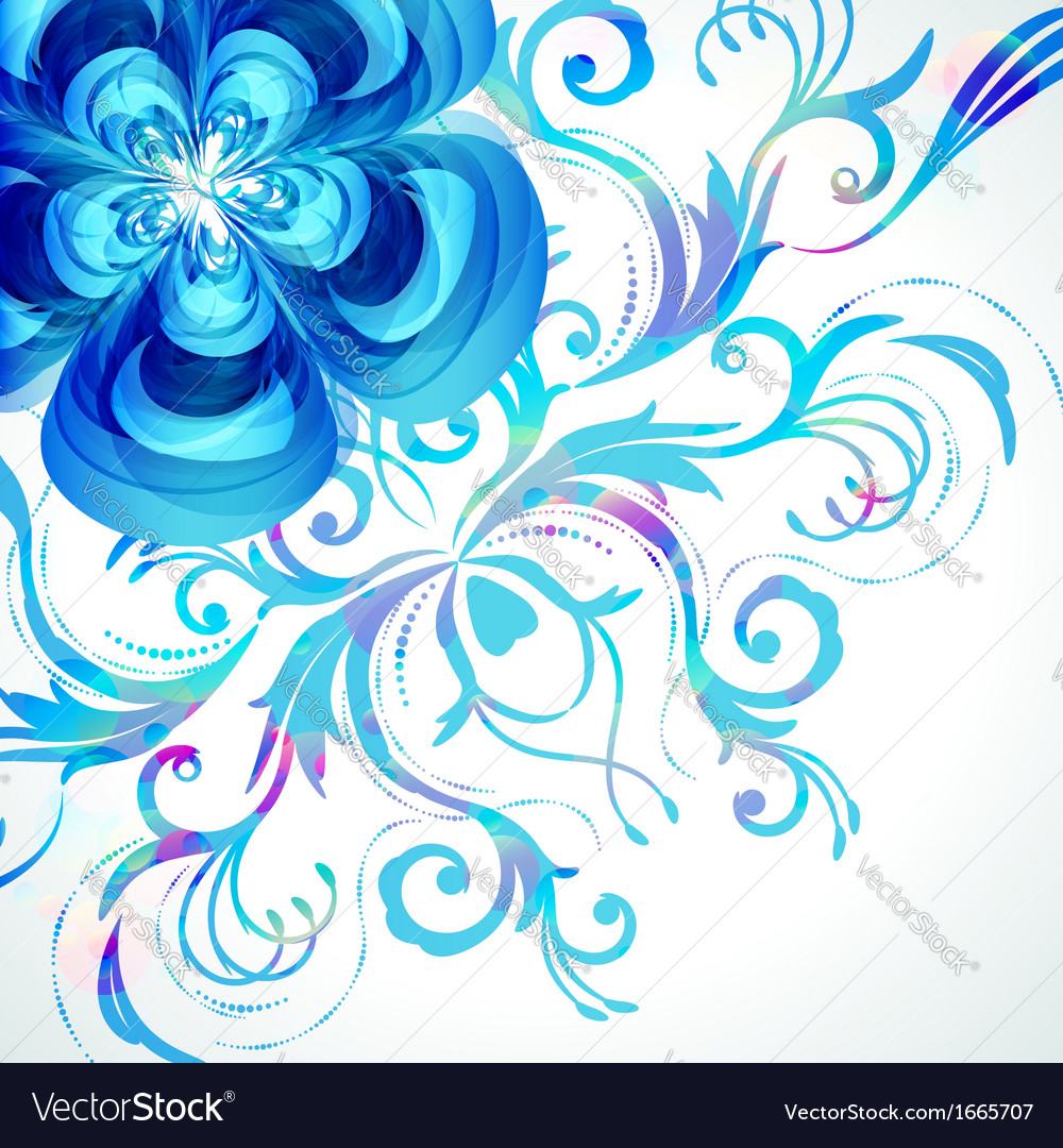 Decoration floral background vector   Price: 3 Credit (USD $3)