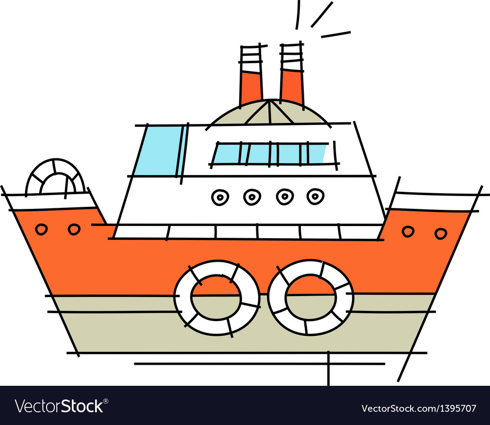 Icon ship vector | Price: 1 Credit (USD $1)