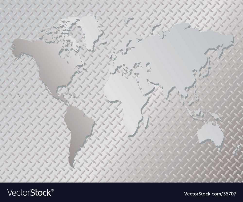 Metal world vector | Price: 1 Credit (USD $1)