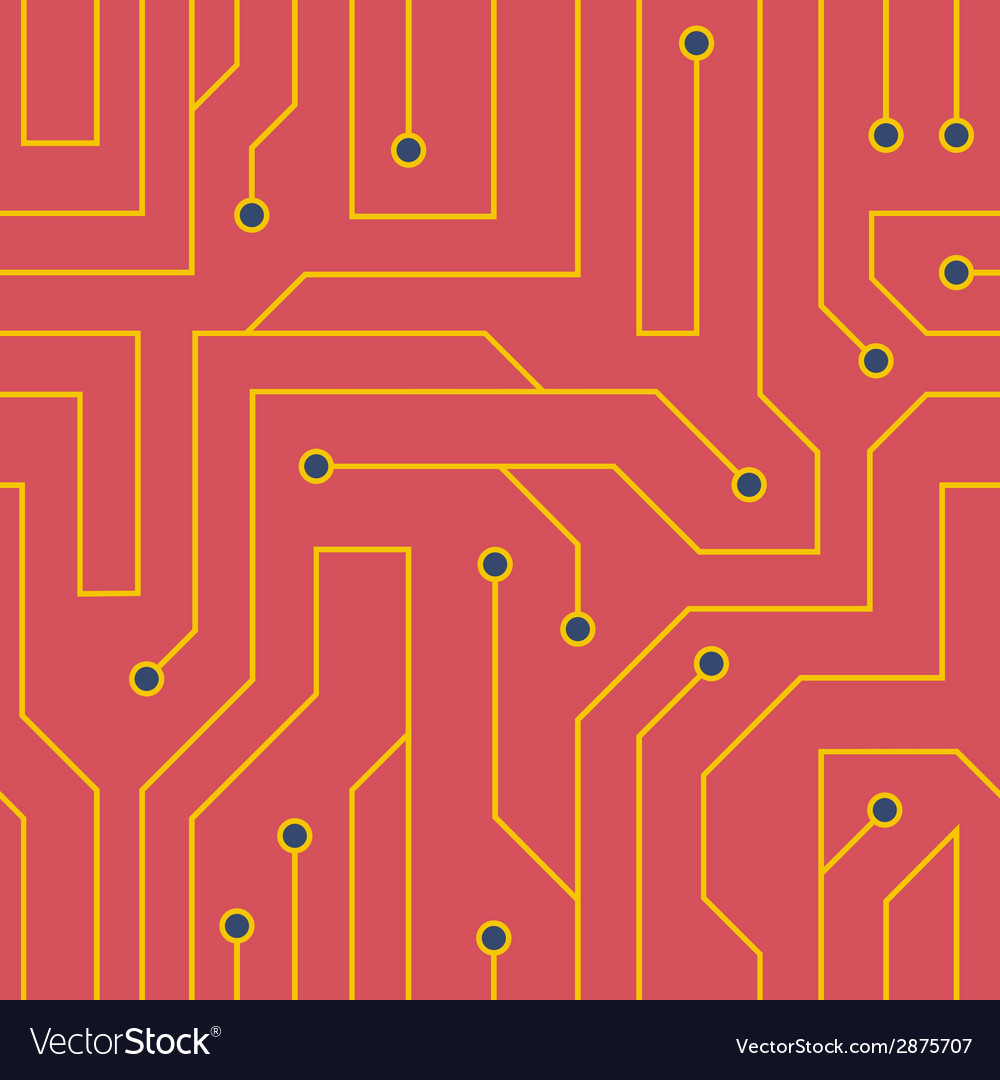 Red circuit board background vector   Price: 1 Credit (USD $1)