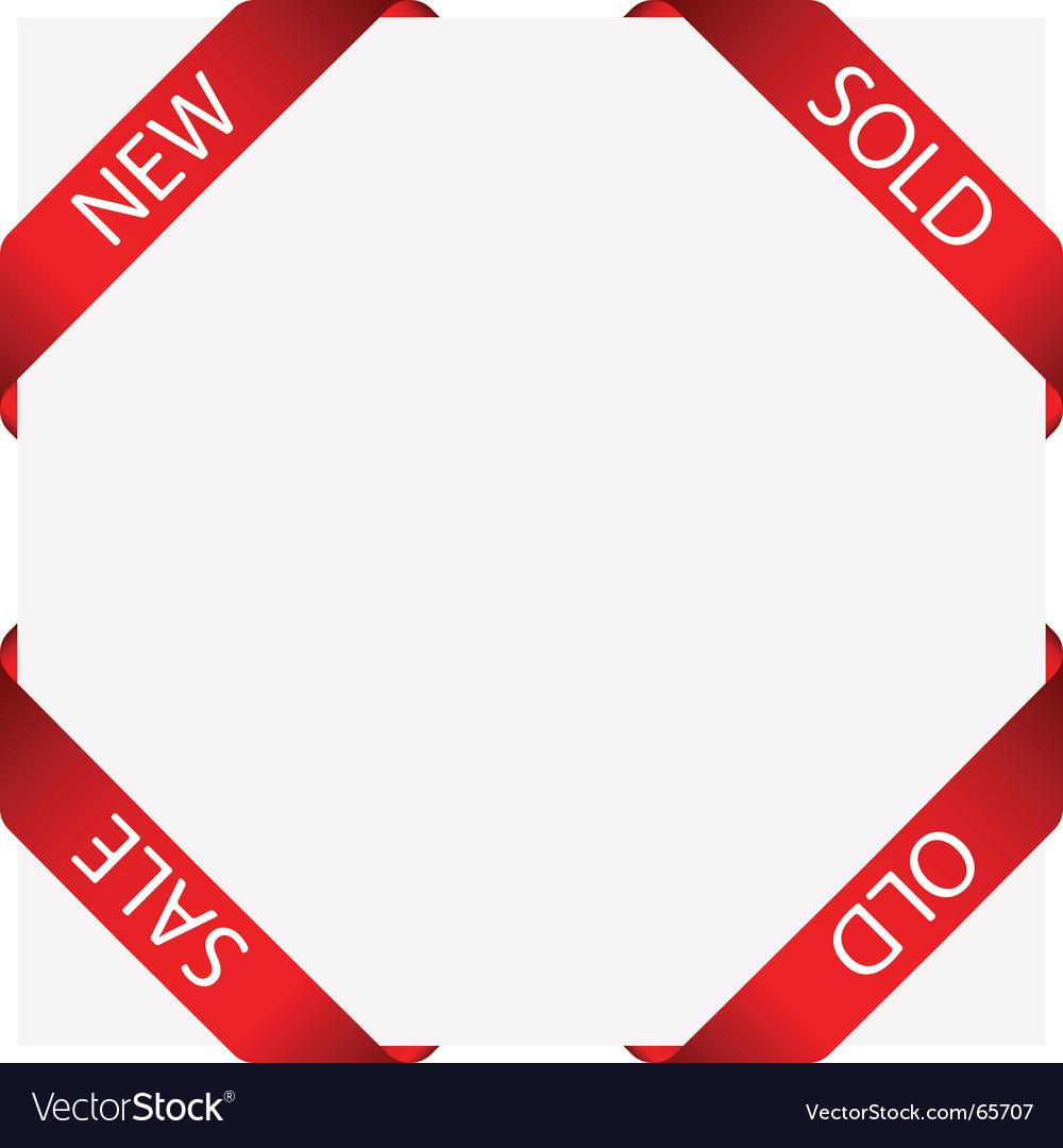 Set of ribbon labels vector | Price: 1 Credit (USD $1)