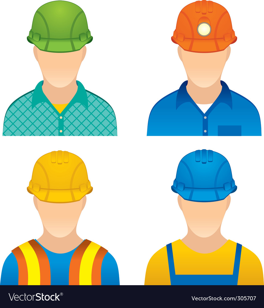 Workers vector | Price: 3 Credit (USD $3)