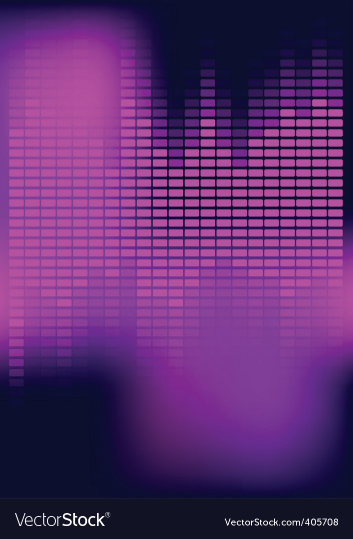 Abstract background equalizer vector | Price: 1 Credit (USD $1)