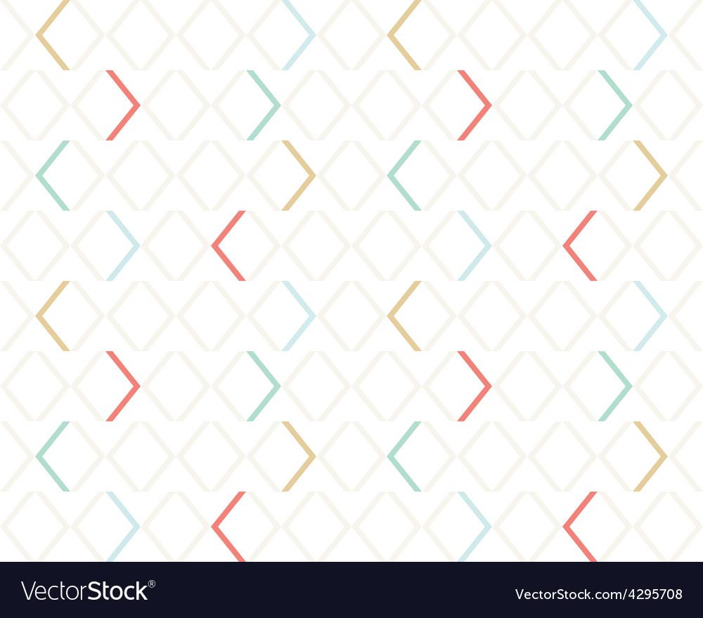 Clean light gentle geometrical modern seamless vector | Price: 1 Credit (USD $1)
